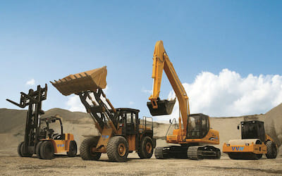 Construction and road construction machinery