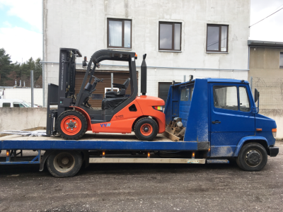 "Diesel forklift D3000 delivery to the company ""Usi"""